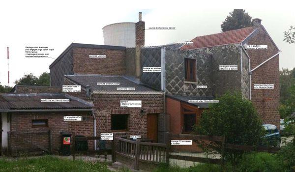 Annexe en bois une chambre en plus avec fa ade en for Cout annexe construction maison