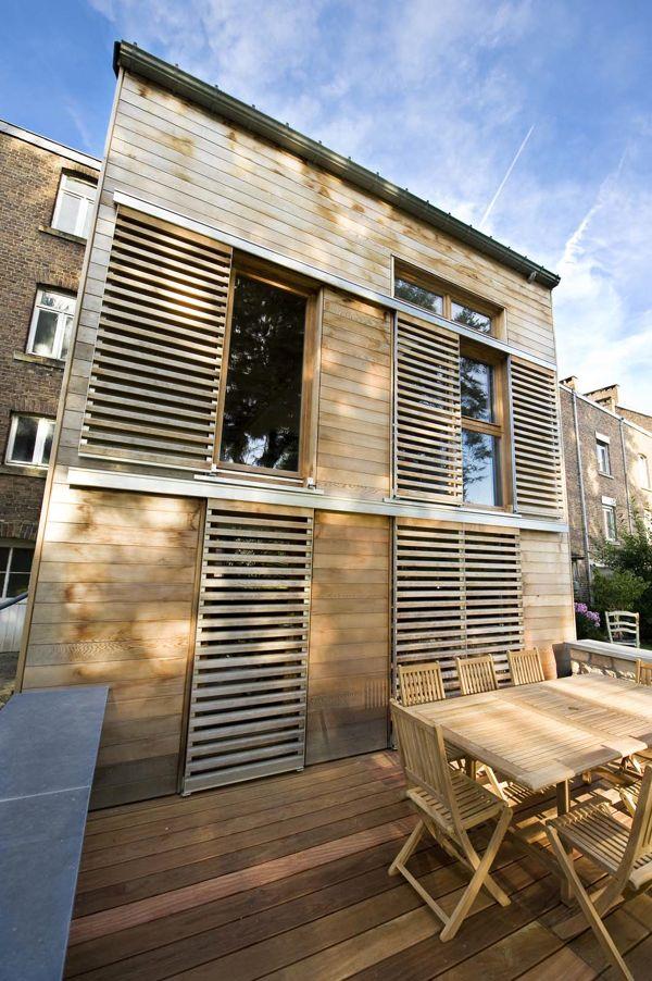 Annexe en bois architecture bois for Annexe maison prix